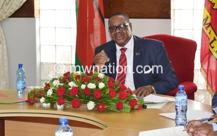 peter at Admarc | The Nation Online