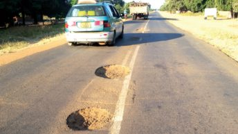 440 pits on 23km road