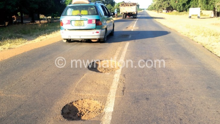 potholes | The Nation Online
