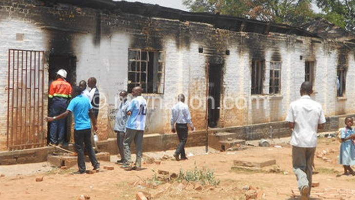 Fire displaces 129 students at Police Secondary School