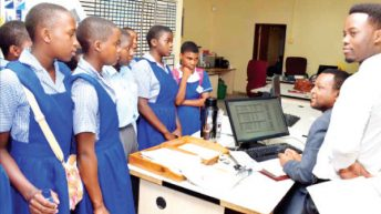 Bankers initiate  girls into the sector