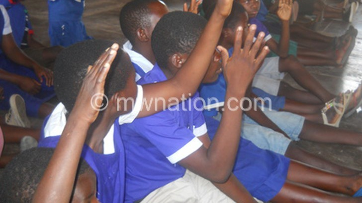 NGO partners pupils in trachoma fight