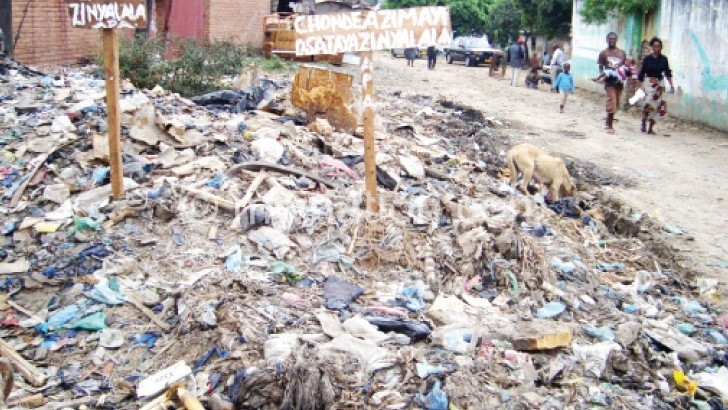 Rise of bursting slums