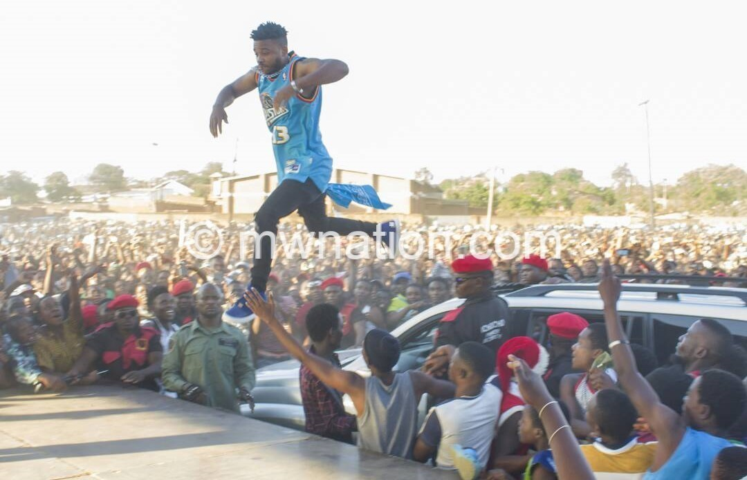 Fredokiss jumps | The Nation Online