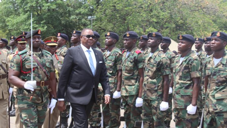 MDF troops  told to bring  peace in DRC