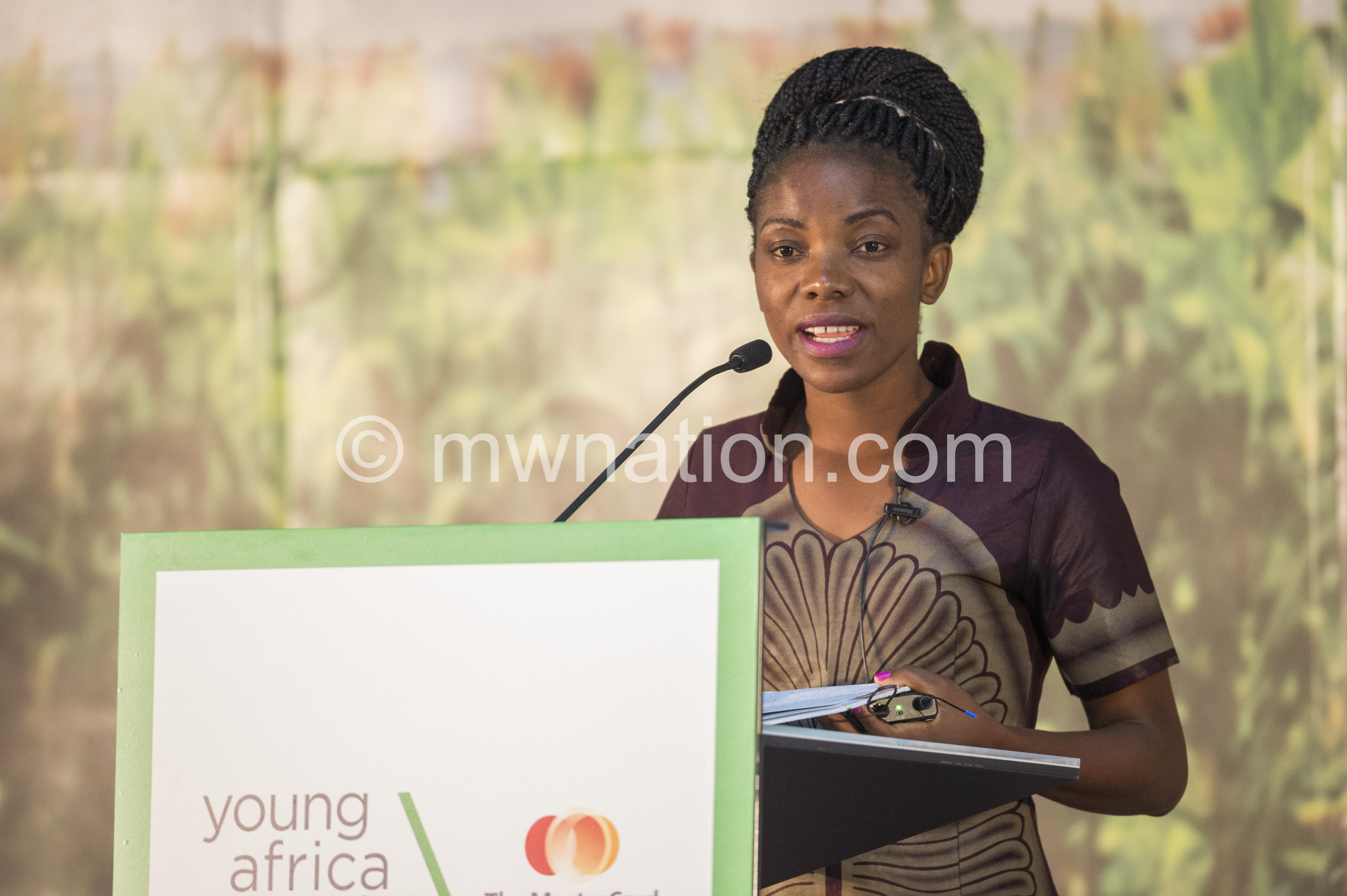 Speaker at the young Africa Works summit | The Nation Online