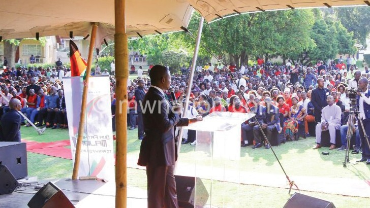 Bushiri prays for Malawi