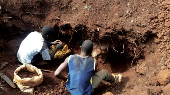 Policing illegal mining