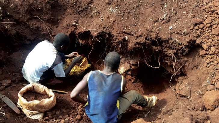 Chaos in Ntcheu as illegal miners take over mine