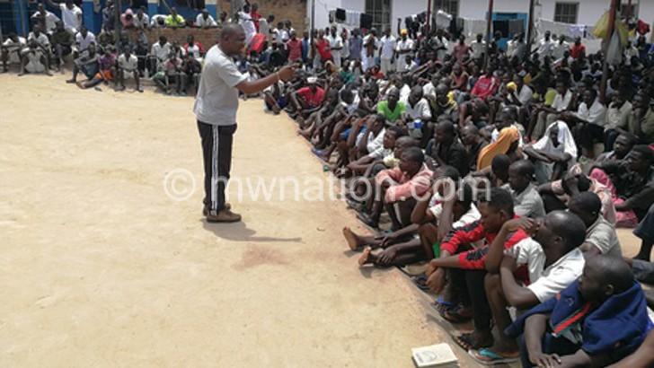 mzuzu inmates   The Nation Online