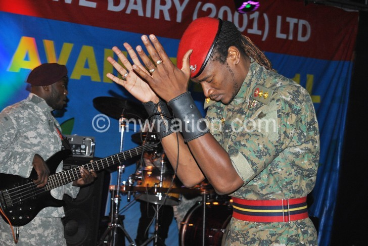Jah Prayzah on stage at BSC | The Nation Online