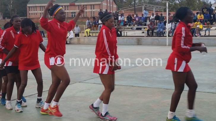 Presidential Netball finals Dec 14