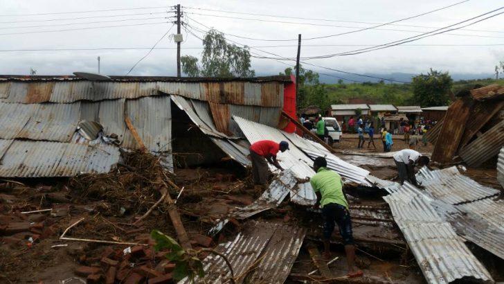 Floods, mudslides hit Rumphi