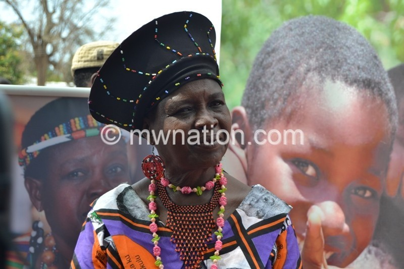 Snr Chief Kachindamoto says education should be key to ending child marriages lest it be a losing battle. Photo by Fatsani Gunya | The Nation Online