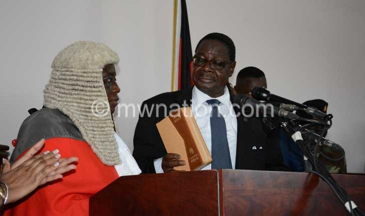 Swearing in peter | The Nation Online