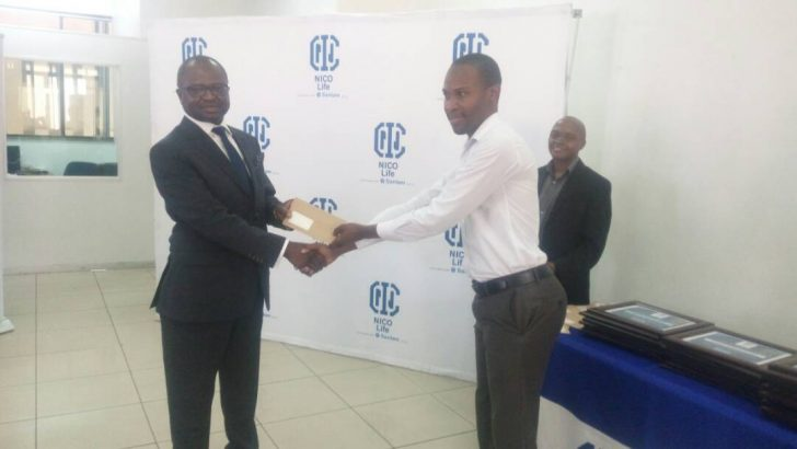 NICO Life awards long serving staff, best agents