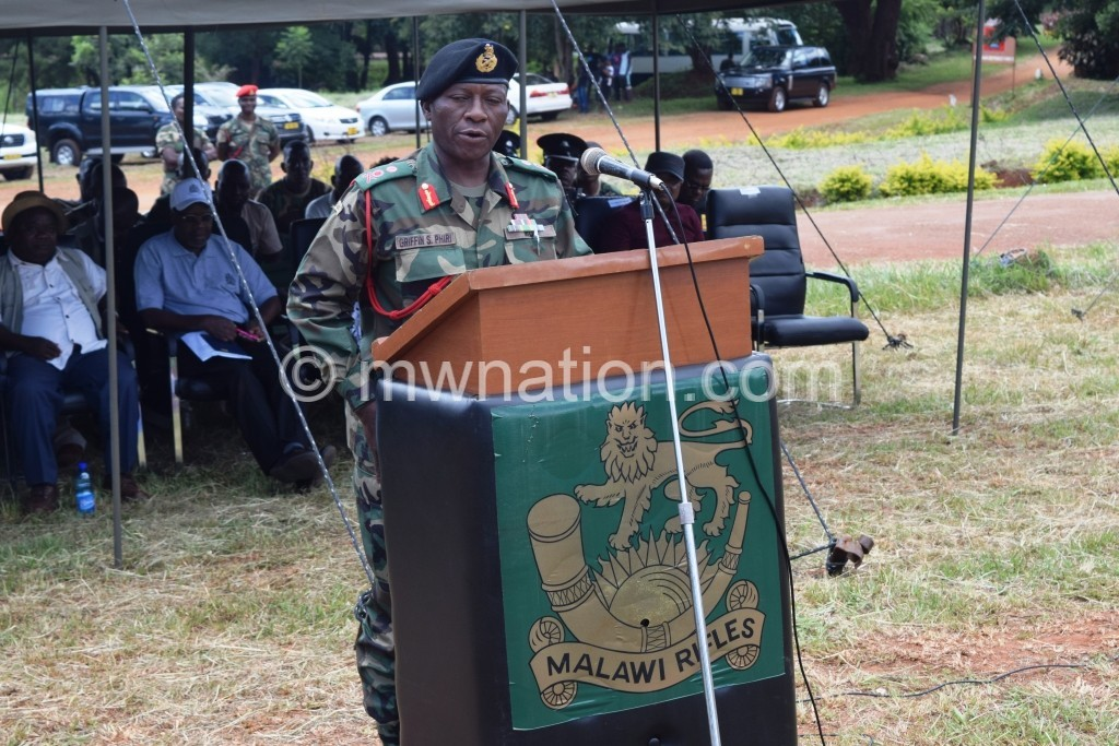 General Supuni Phiri | The Nation Online