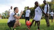 Germany professional player inspires Malawian youths