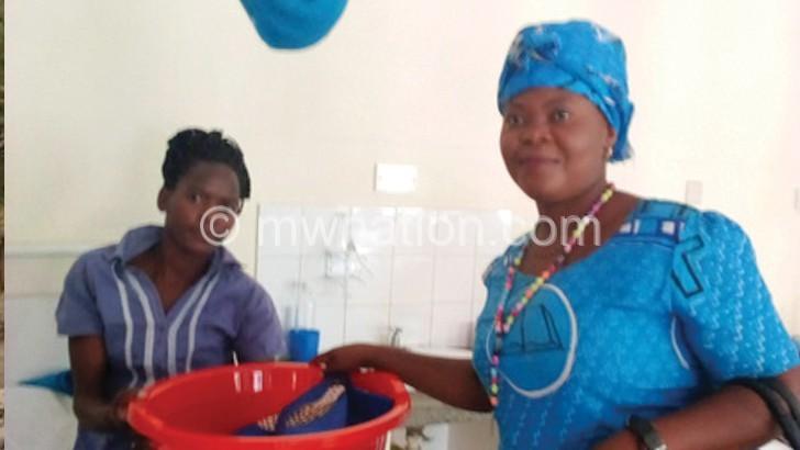 Catholic women donate to Bwaila fistula patients