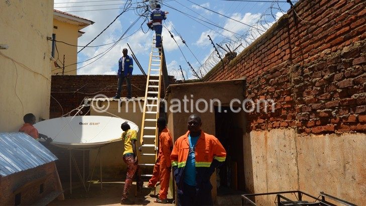 Escom cautions encroachers