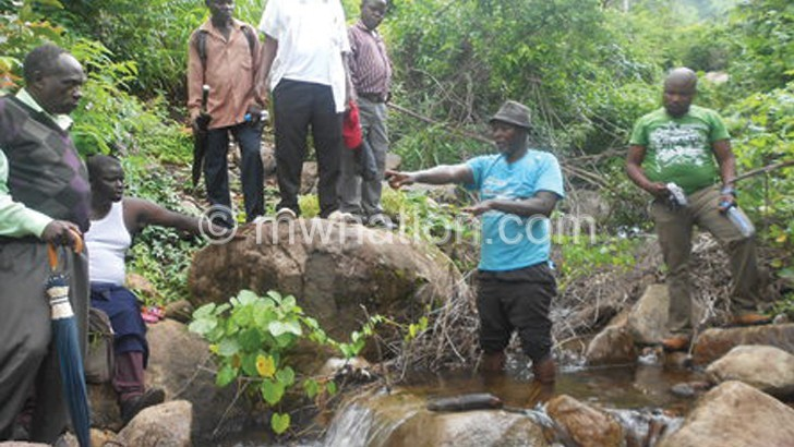 Kasichi water project  delights Zomba people