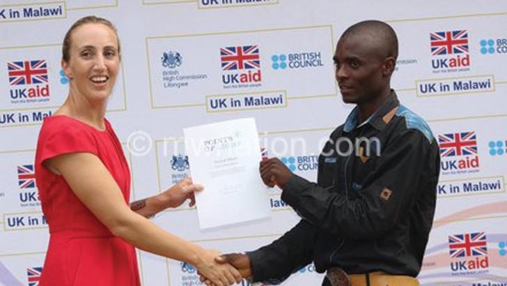 Corled Nkosi gets Queen Elizabeth II award