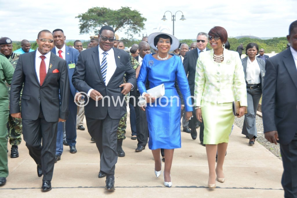First and second couple mutharika chilima | The Nation Online