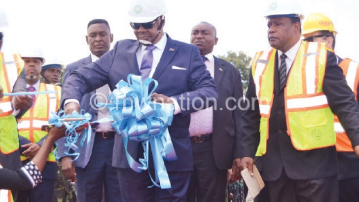 Mutharika's smoky power plant