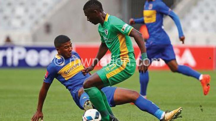 Ngalande scores 3rd goal in SA's PSL