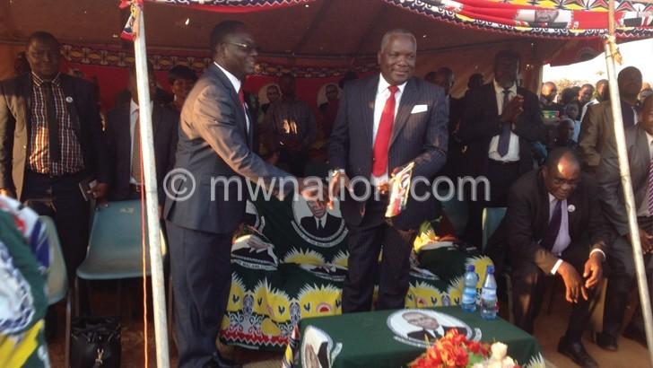 Richard Msowoya and Gustave Kaliwo | The Nation Online