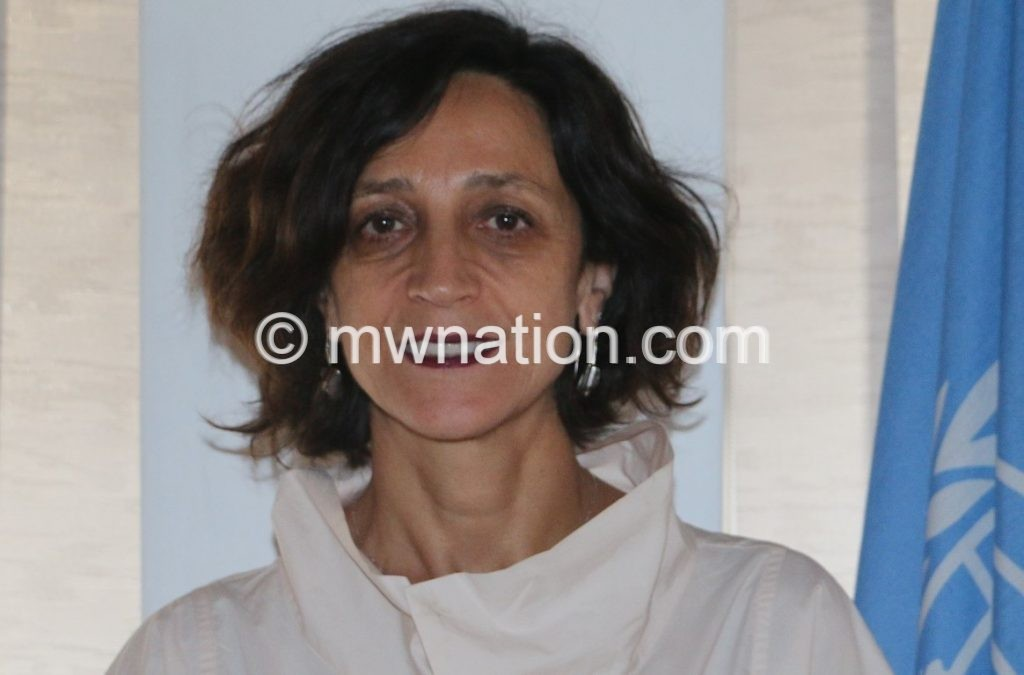 UN Resident Coordinator for Malawi Ms. Maria Jose Torres Macho1 1 | The Nation Online
