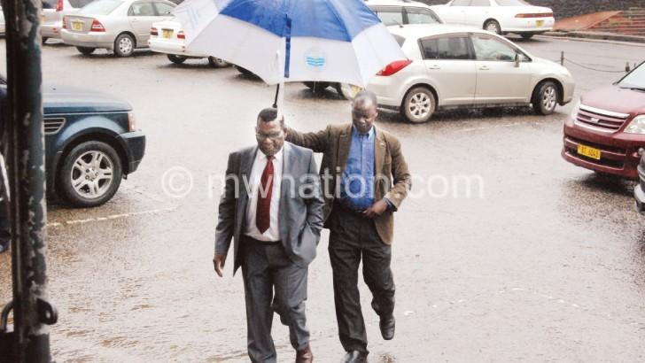 Documents hold back  Chaponda, Tayub case