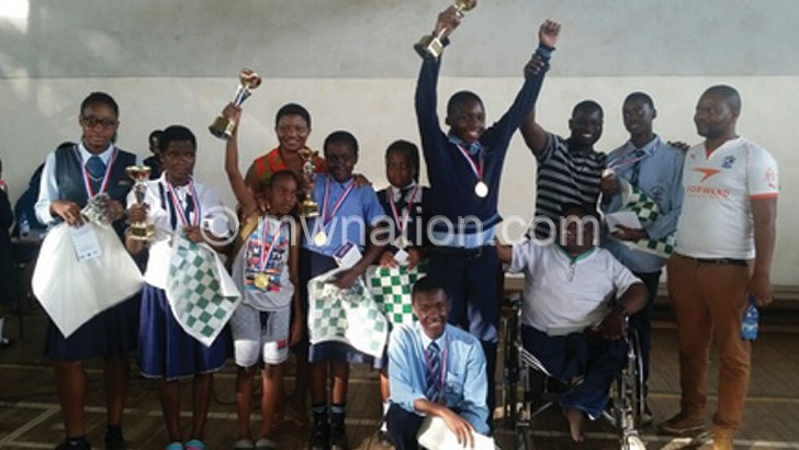Straight wins for S&S Schools Chess champs