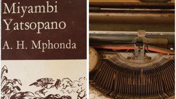 Miyambi Yatsopano typewriter lives on