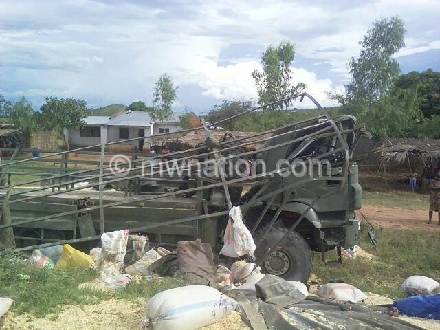 MDF accident1 | The Nation Online