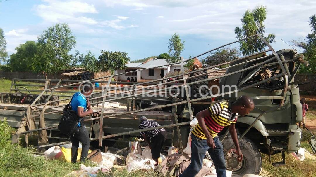 MDF accident2 | The Nation Online