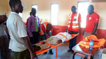 Red Cross equips communities  with first aid equipment