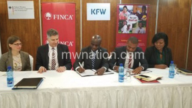 Finca, KfW sign K2.5bn  loan facility to boost SMEs