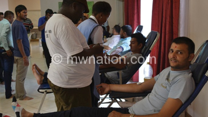 giving blood | The Nation Online