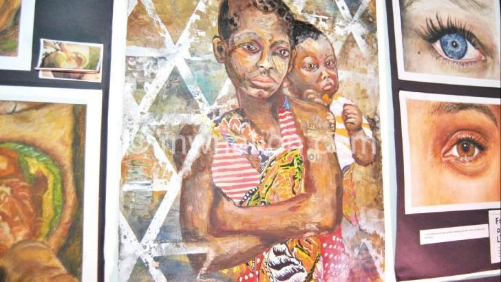 Children impress during arts exhibition