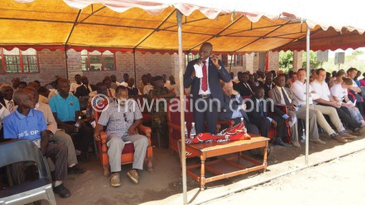 Timotheos Foundation hands over school blocks in Nsanje