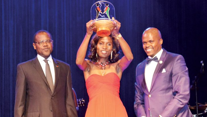Referee Kwimbira-Nzika shines at Sports Awards