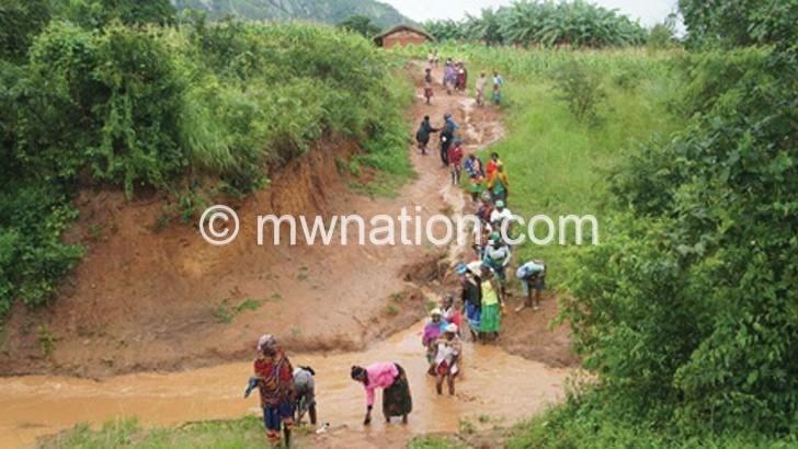 Mzimba communities want better road
