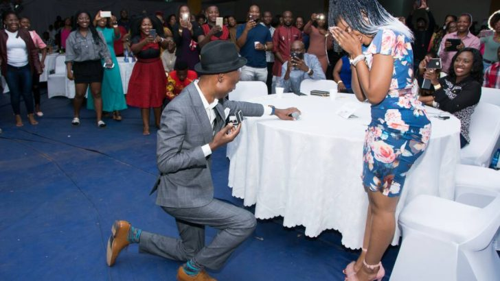 Lawi finds love on stage