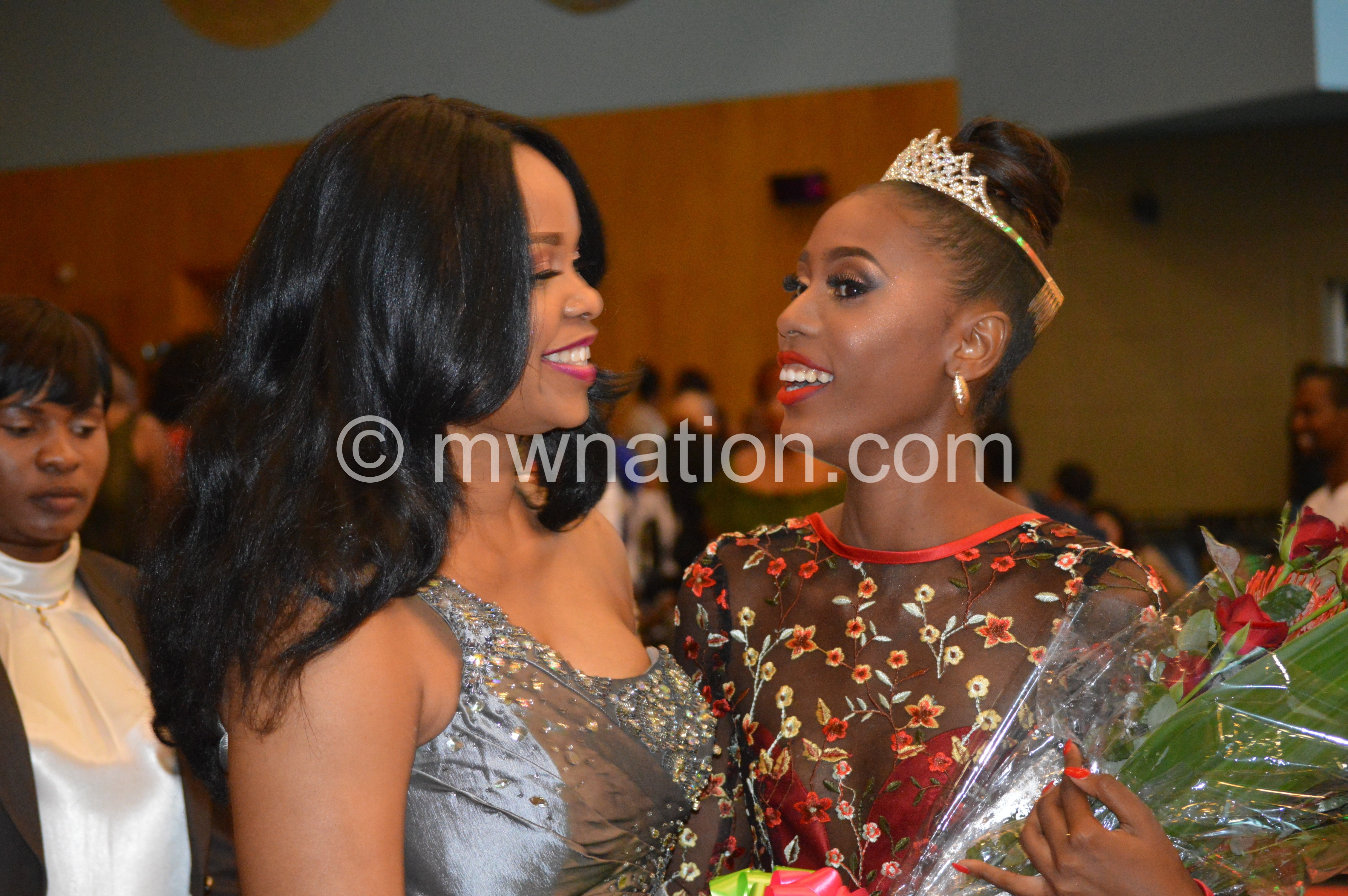 Chilima and new Miss Malawi | The Nation Online