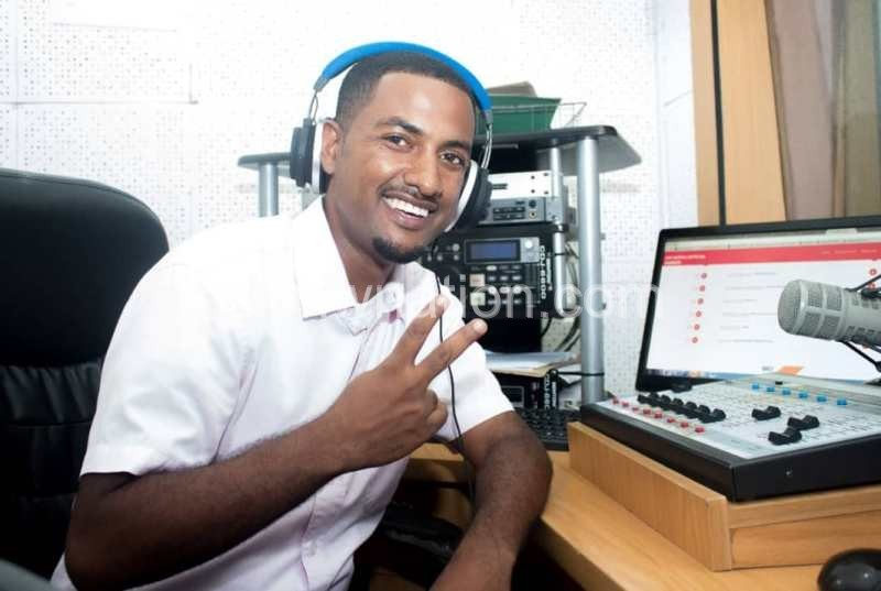 Doing what he knows best making artists. Joy Nathu in the studio. | The Nation Online