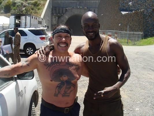 Eugene Khumbanyiwa  in new Hollywood movie