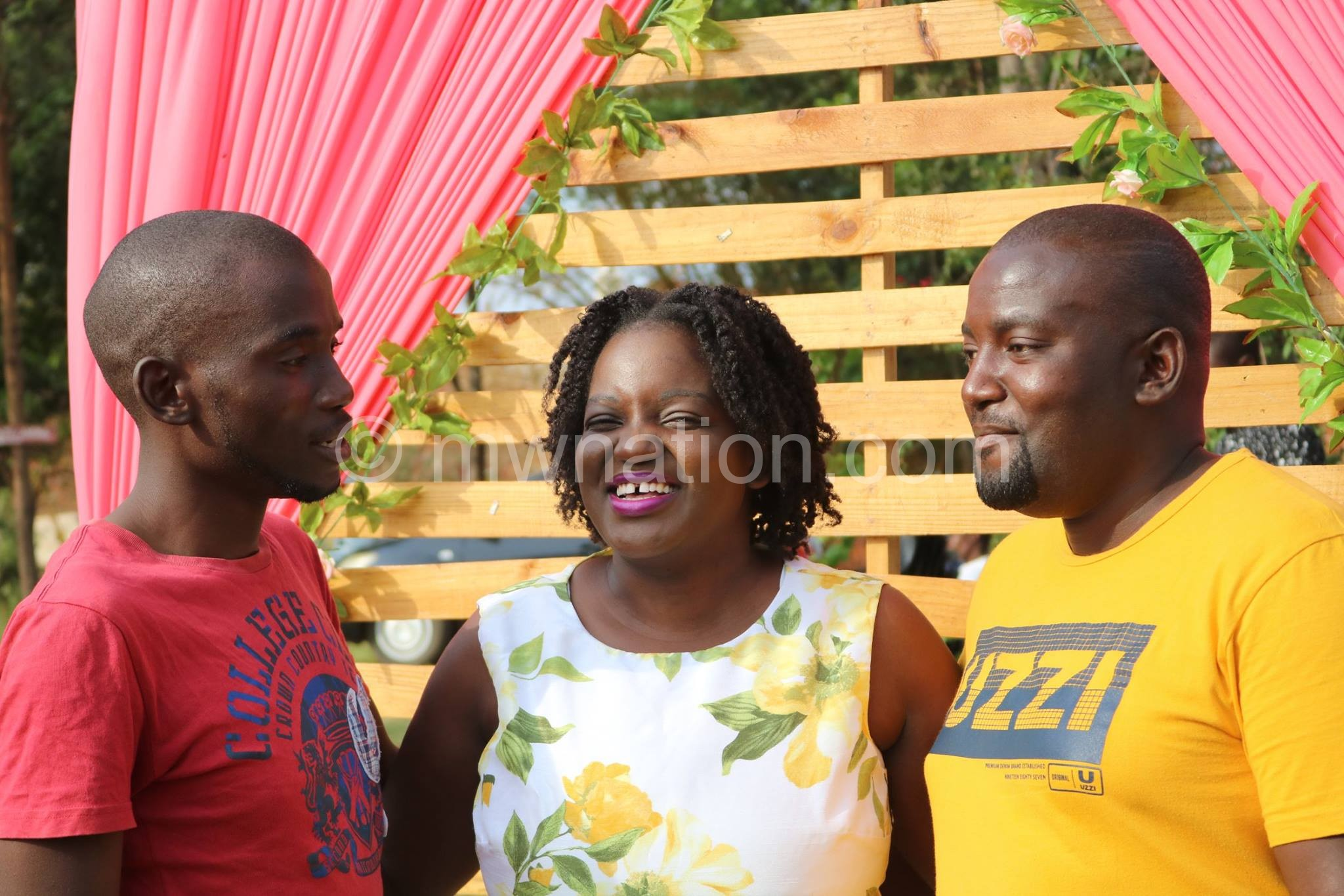 Kaboni with brothers   The Nation Online