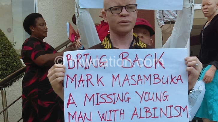 Missing person with  albinism found murdered