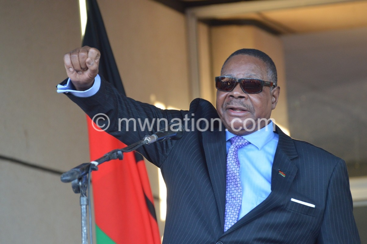 Mutharika speaks | The Nation Online